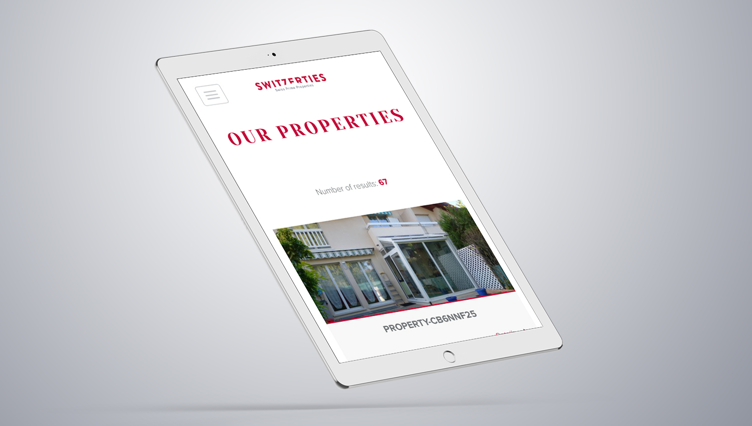 Web design laptop view for Switzerties 2 by 8 Ways