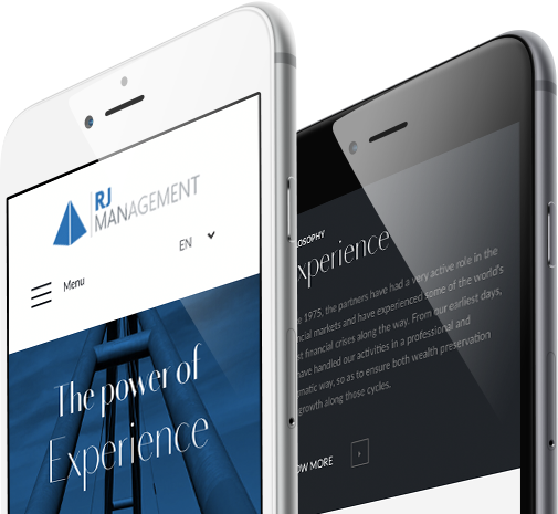 Mobile view design for RJ Management