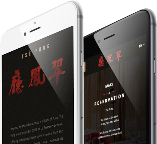 Mobile view design for TSE Fung Group