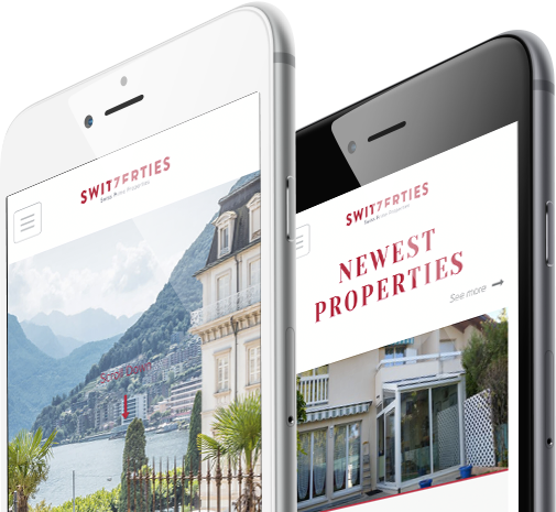 Mobile view design for Switzerties