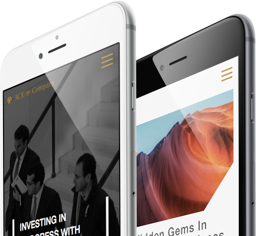 ACE & Company Mobile Responsive Website.
