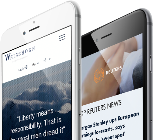 Mobile view design for Weisshorn