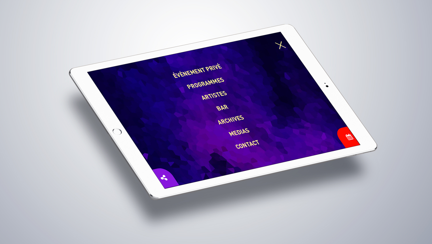 Web design tablet view for ZOE 2 by 8 Ways